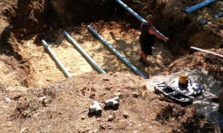 FAF TP Pose d'assainissement Montalieu-Vercieu